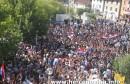 Mirni prosvjedi na Širokom Brijegu