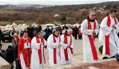 U ponedjeljak blagdan svetog Blaža, zaštitnika župe Gradnići