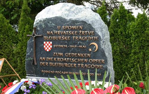 U Domovinskom ratu izgubio je dva sina: Spomen obilježje na Bleiburškom polju podigao je Hercegovac Petar Miloš