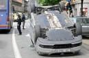 u Zagrebu tri časne sestre u Volkswagen Touranu završile na krovu