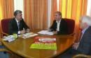 Sastanak ministra Hercega s predsjednikom Saveza udruženja asocijacija organskih proizvođača FBiH