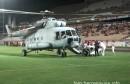 & VIDEO: Helikopter sletio po bolesnika na stadion pod Bijelim Brijegom