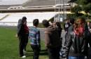 Srednjoškolci na stadionu
