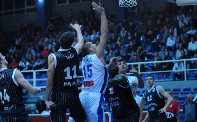 NLB liga: Finale Partizan - Olimpija