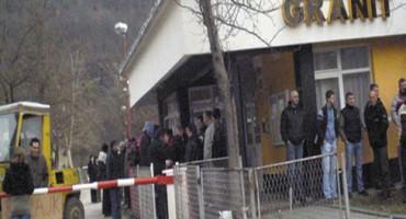 """Jablanica: Radnici """"Granita"""" opet blokirali put M-17"""