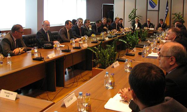 Delegacija PSBiH na zasjedanju Skupštine Interparlamentarne unije u Beogradu