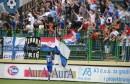 Slavlje nogometaša i navijača Širokog Brijega nakon utakmice