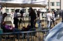 Doček Ratka Mladića pred tribunalom u Haggu