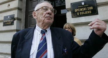 Josip Boljkovac uhićen pod sumnjom za ratni zločin iz 1945.
