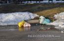 Bacanje smeća Bijeli Brijeg