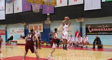 Košarkaši Zrinjskog pobjedili u Bileći