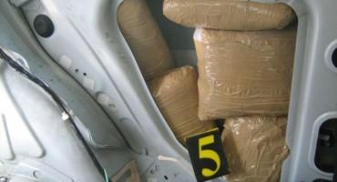 Kod Metkovića zaplijenjeno 22 kilograma marihuane