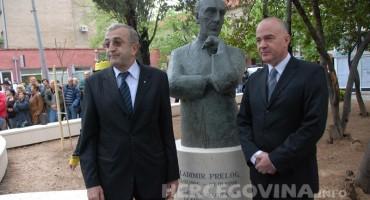 Otvoren 'Park nobelovaca' u Mostaru