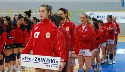 """Rukometašice HŽRK Zrinjski osvojile memorijalni turnir """"Žrtve Kupresa '92""""."""
