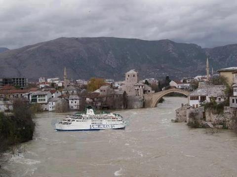 Mostar: Trajektni promet u gradu se normalizira
