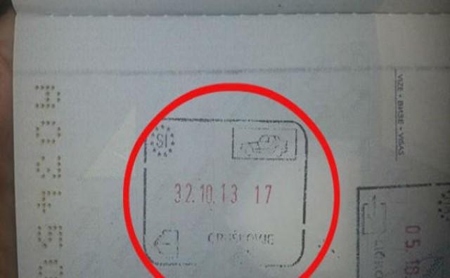 Pogledajte datum na putovnici!