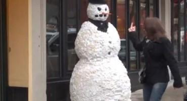 Strašni snjegović