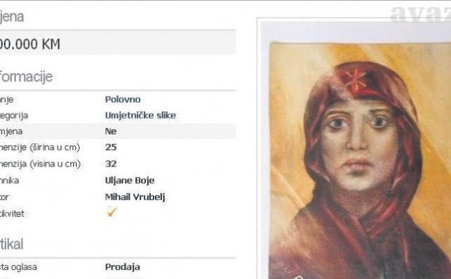 Zeničanin prodaje sliku za 600.000 KM