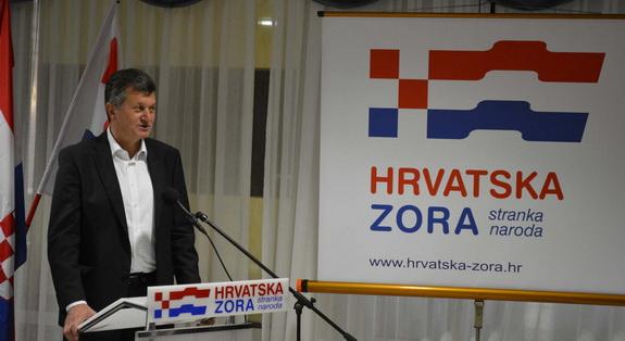 Gradska organizacija Hrvatske zore utemeljena je danas u Vukovaru