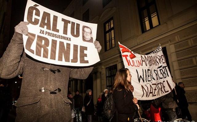 Ćaltamanija u u Austriji: Prosvjedi za predsjednika