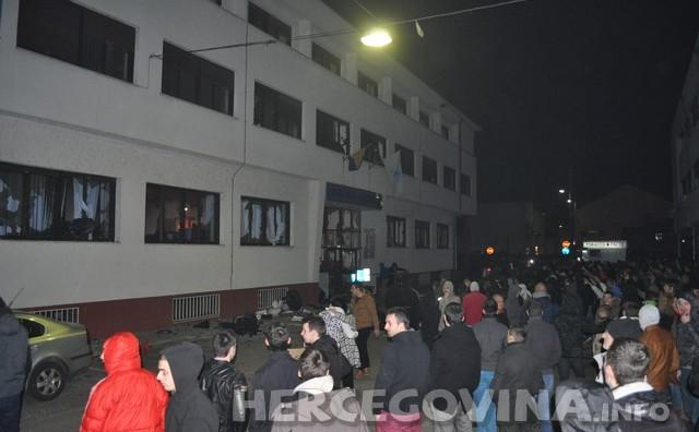 Počela obnova zapaljene zgrade Gradske uprave Mostar