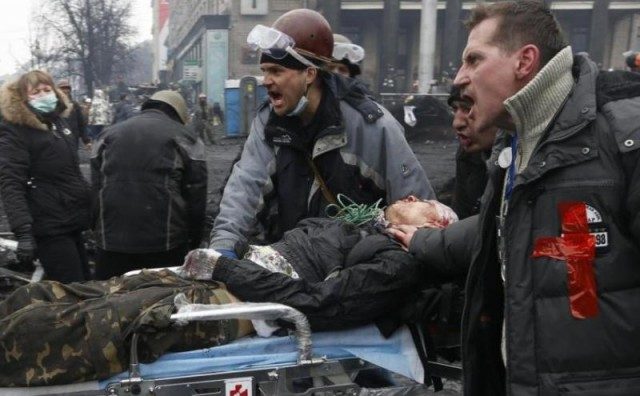 Kaos u Ukrajijini: Središtem Kijeva odjekuju pucnji i detonacije