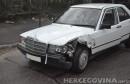 Mostar: Sudar Audija i Mercedesa kod stadiona