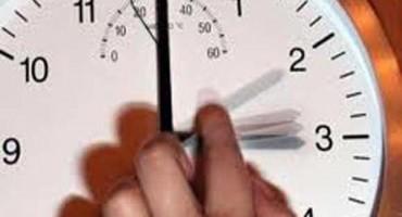 Večeras pomjerite sat 60 minuta unaprijed