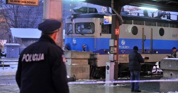 Stradao pod vlakom na Glavnom kolodvoru
