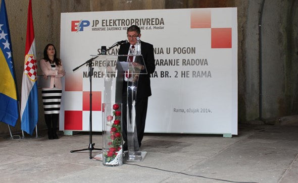 Elektroprivreda HZ HB: HE Rama 'gospodarski biser' koji treba čuvati i održavati