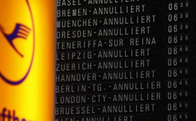 U Njemačkoj otkazano stotine letova zbog štrajka