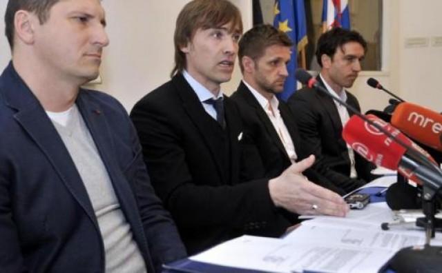 Četiri bivša kapetana zagrebačkog Dinama