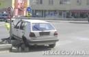Mostar: U sudaru na vrhu Avenije ozljeđena jedna osoba