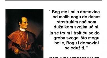 109. obljetnica smrti biskupa Josipa Jurja Strossmayera