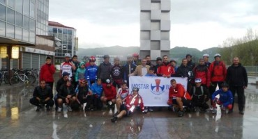 Biciklisti iz BiH i Hrvatske stigli u Kiseljak