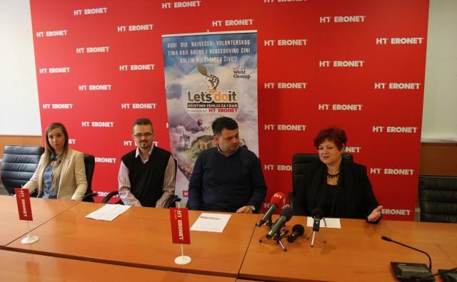 """Akcija """"Let's do it- očistimo zemlju za jedan dan"""" predstavljena i u Mostaru"""
