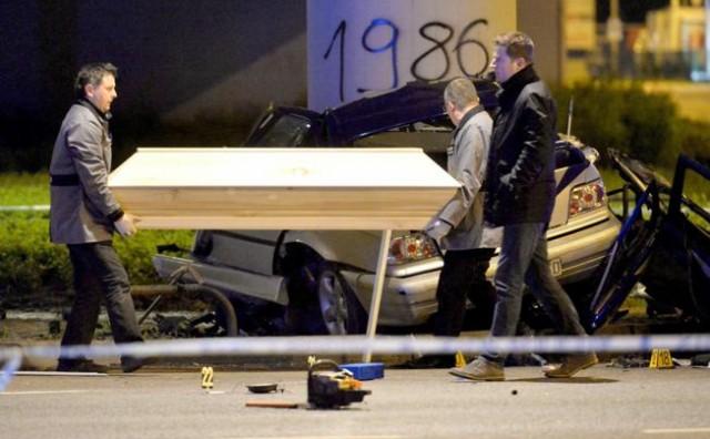 BMW prošao kroz crveno, poginuli mladi supružnici