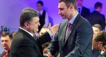 Porošenko predsjednik Ukrajine, Kličko budući gradonačelnik Kijeva
