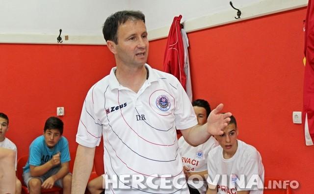 Draženko Bogdan trener pionira HŠK Zrinjski