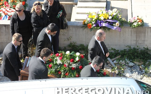 U Mostaru sahranjen Mišo Relota