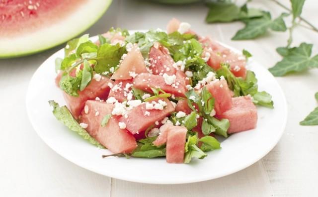 Salata od lubenice i feta sira