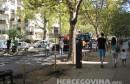 Splitska ulica u Mostaru