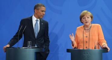 Obama i Merkel smatraju da se Rusija upušta u opasnu eskalaciju