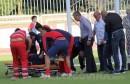 Drama na treningu Zrinjskog: Ozlijeđenog nogometaša odvela hitna pomoć