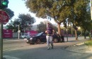 Prometna nezgoda na raskrižju kod sportske dvorane