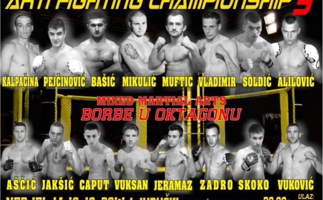 Najava: Arti fighting championship 3 u Ljubuškom 19. listopada