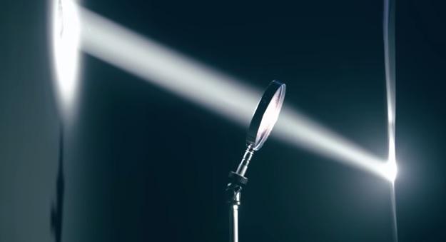 Pogledajte moć samo jedne malene zrake svjetlosti!