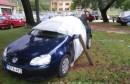 Mostarski crnjaci: Kako kolegi spasiti auto od kiše