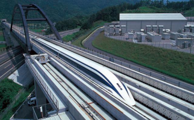 Vlak 'Maglev' na probnoj vožnji preko 500 km/sat