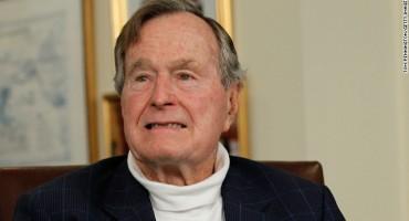 Bivši američki predsjednik George H. W. Bush hospitaliziran